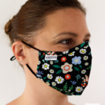 MASQUES MY MASK FLORAL JAUNE BLEU ROUGE SUR FOND NOIR – FASHION MASQUES – 3_4
