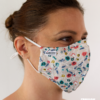 MASQUES MY MASK FLORAL SUR FOND BRUN - FASHION MASQUES - 3_4