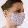 MASQUES MY MASK PETITES FLEURS BLANCHES SUR FOND ROSE - FASHION MASQUES - 3_4