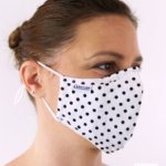 MASQUES MY MASK POIS NOIRS SUR FOND BLANC – FASHION MASQUES – 3_4